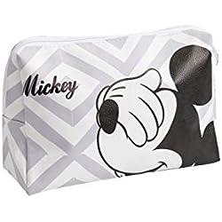 Trousse De Toilette Disney Mickey Mouse Grise