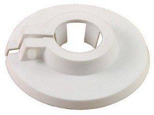 Buderus / Flamco Abdeckrosette Heizkörper Rohrabdeckung, Lochung:15 mm