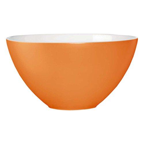 ASA Nuance Bol, Céramique, Blanc/Orange, 29,5 cm cm
