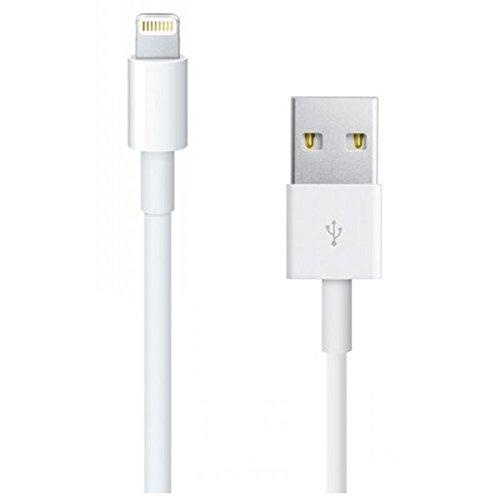 iRefurb® CAVO Lightning MD818 Originale Apple 100% 1 Metro Bianco per Apple iPhone Originale 5 5C 5S 6 SE 6S 7 8 X IN BULK