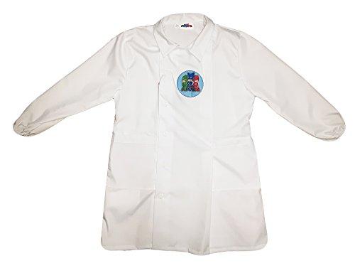 Pj masks grembiule scuola bimbo con bottoni nuona collezione bianco art. g036 (55)