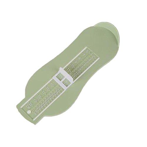 Kicode Schuhe Rule Kleinkind-Rechner Hand Messen Messgerät Pedal-Messgerät Fußlänge Sizer Bestell Schuhe Säuglings-Baby (Baby Kd Schuhe)