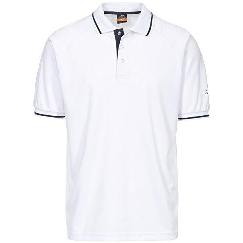 Trespass - Bonington - Polo manica corta - Uomo Bianco