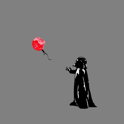 Vader Death Star Balloon - Stofftasche / Beutel Weiß