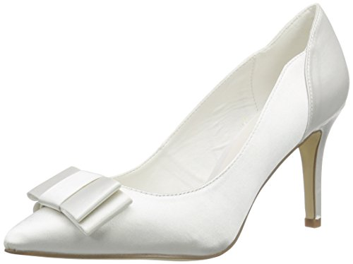 Menbur Wedding Natalia, Damen Pumps, Elfenbein (Ivory), 39 EU