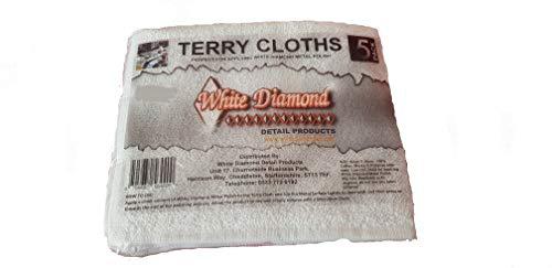 White Diamond Detail Products Frottiertücher zum Auftragen von Metallpolitur