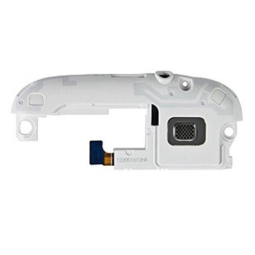 Ricambio flat flex modulo Antenna Speaker Altoparlante Suoneria Vivavoce + ingresso jack auricolari per Samsung Galaxy S3 Neo i9301 GT-i9301 BIANCO