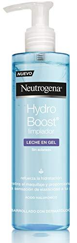 Neutrogena - Cuidado Facial, Hidratación Hydro Boost Leche Limpiadora Gel - 200 ml