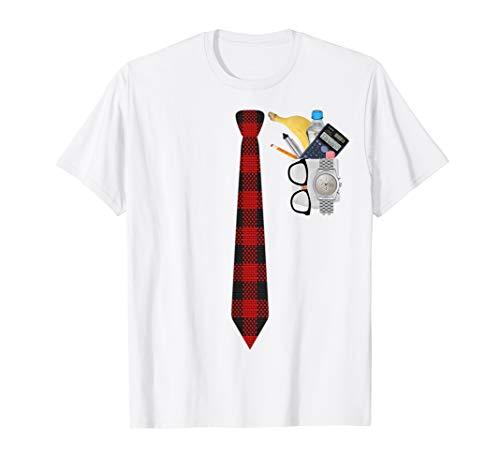 Halloween Nerd Kostüm T-Shirt Lustige Geek XO4U Original - Mathe Nerd Kostüm