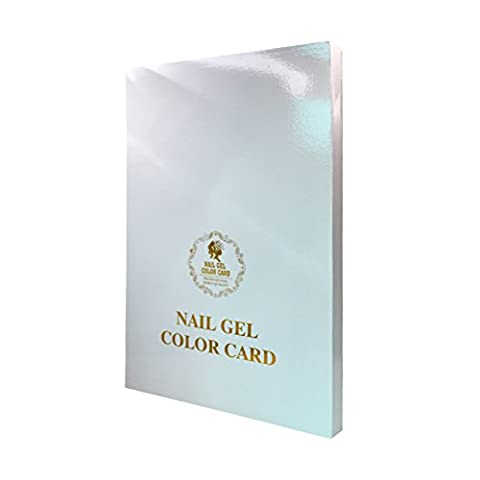 LA HAUTE Nail Gel Color Display Nail Tips Nail Art Salon Card Book for 120/216/308 Colors