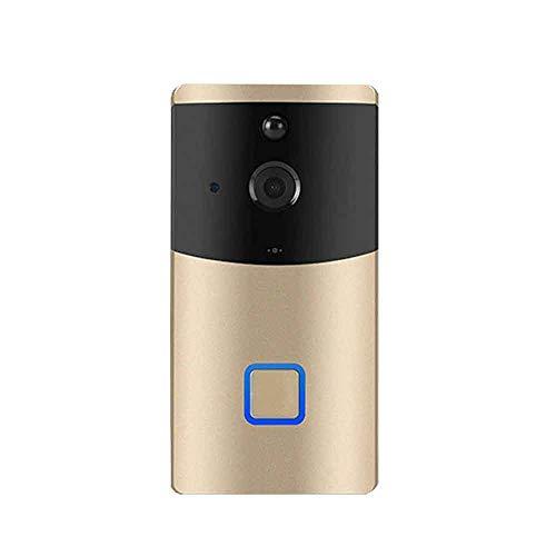 LJ2 Klingeln Sie Video-Türklingel, Video-Gegensprechanlage Wireless WiFi Video-Türklingel-Kamera 1080P Zwei-Wege-Audio-Infrarot-Nachtsicht-APP-Steuerung über Smartphone Mobile Video-installation