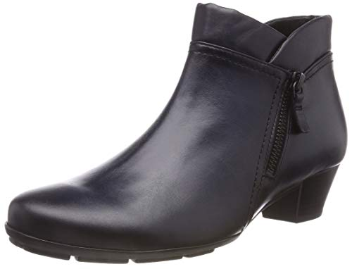 Gabor Shoes Damen Basic Stiefeletten, Blau (River (Effekt) 26), 41 EU