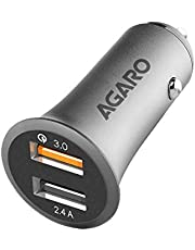 Agaro 5.4A 2 Port Quick Car Charger