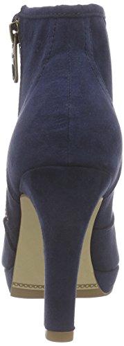 s.Oliver 25300 Damen Kurzschaft Stiefel Blau (NAVY 805)