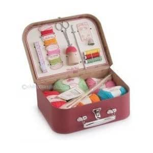 Moulin Roty Suitcase Knitting & Sewing Kit