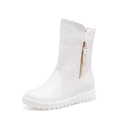 BalaMasa Abl10493, Sandales Compensées femme Blanc