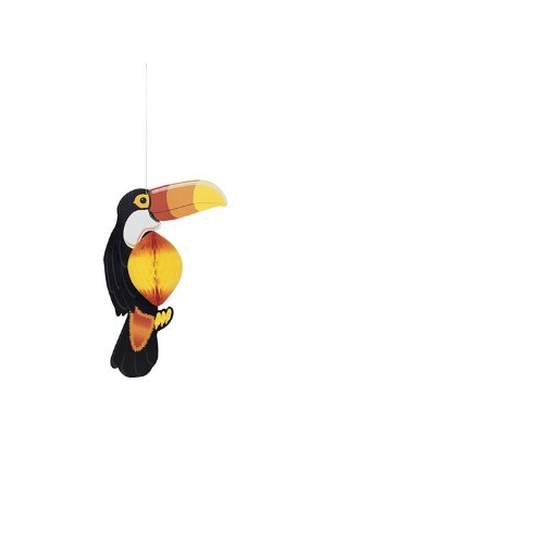 Unique Party Supplies 43 cm hängend Honeycomb Toucan Party Dekoration