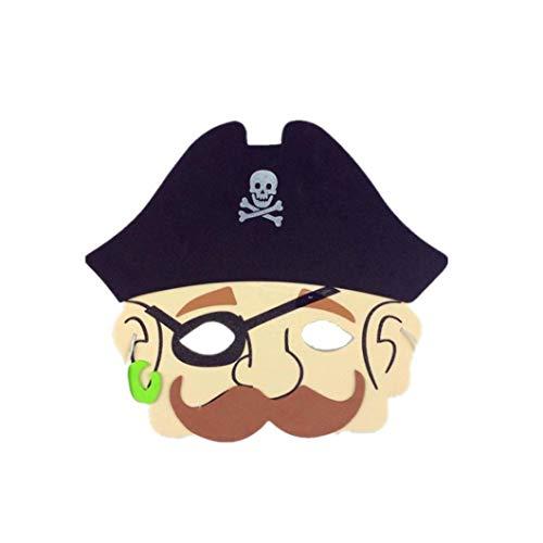 diadia Sortiert Schaumstoff Tier Masken für Geburtstag Partyzubehör Verkleiden Kostüm Halloween Party Cosplay Kostüme Bar Pretty Party Abend Ball Maske