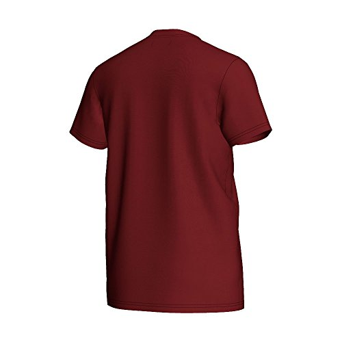 Adidas–Maglietta da donna Trefoil, o57532, Uomo, T-shirt Trefoil blu navy e bianco