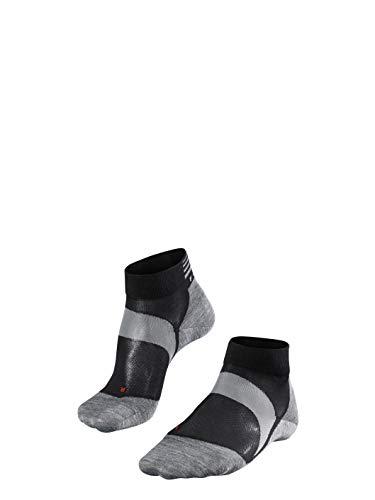 FALKE Unisex Socken BC6 Racing - Funktionsfaser, 1 Paar, Schwarz (Black-Mix 3010), Größe: 42-43