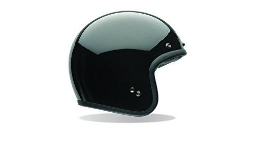 Bell Powersports Custom 500 Motorradhelm, Schwarz (Schwarz Solid), XL