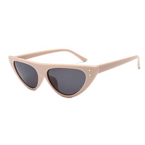 Junecat Frauen Kleiner Rahmen All-Match Sonnenbrillen Outdoor Anti-UV-Brillen aus Kunststoff Wandern Reise Sun Glasses