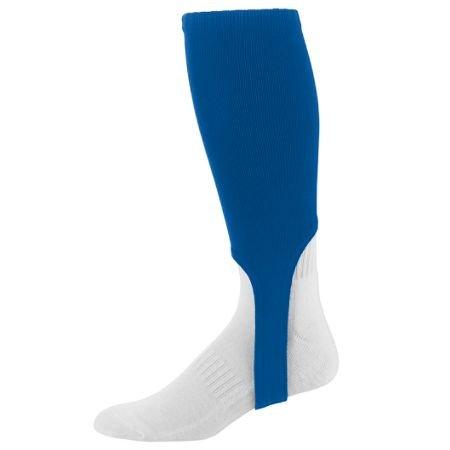 Augusta Baseball/Softball 17,8cm Steigbügel Socke Knie Länge Old School (Verkauft, als EIN Paar in 3Größen, 11Farben), Damen Mädchen Jungen Herren, königsblau, Youth 7-9