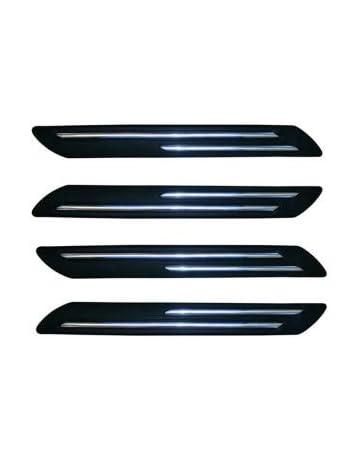 High Chrome Effect Bumper Corner Protector Kit 4 Piece fits AUDI