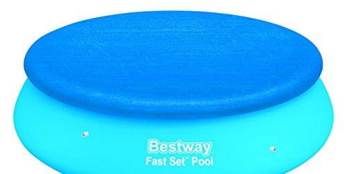 Bestway 58033 Copripiscina Fast Set, Rotonda, da