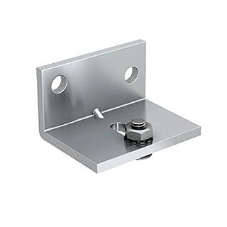Montagewinkel für SLID'UP 1100, 1300 Schiebetürbeschlag, für Durchgangstüren bis 80 kg