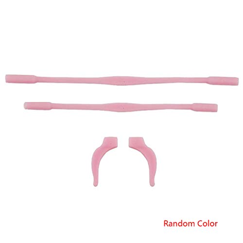 Yujum Kinderbrillen Lanyard Set Elastizität Silikon-Anti-Rutsch-Brillen Brillen Sonnenbrillen Schnüre Seil zufällige Farbe