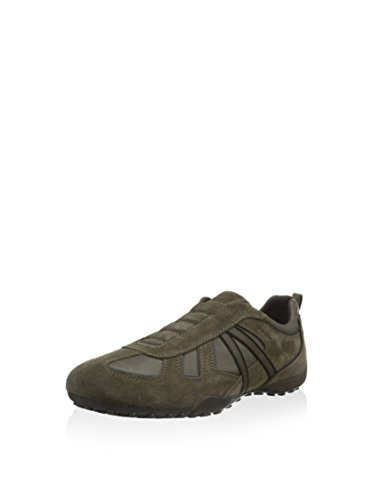 Geox U Snake R, Chaussures Homme Taupe / Gris