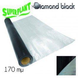SuperPlant Mylar Diamond Black Backing 1,2 x 7,5 m (rouleau) Papier Réflechissant