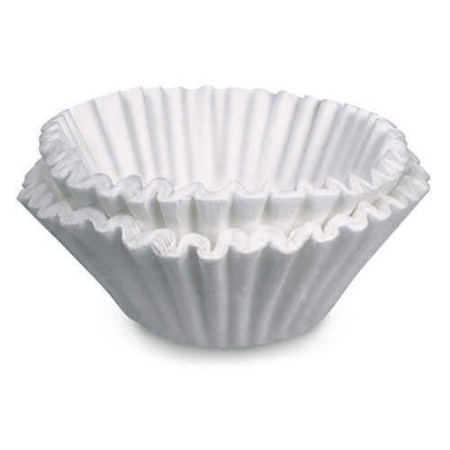 Kaffeefilter für 12 Tassen (500 Stück) - schweres hochwertiges Papier für besseren Geschmack - hohe Seiten verhindern Überlauf - kein Bissen mehr in Ihrem Kaffee
