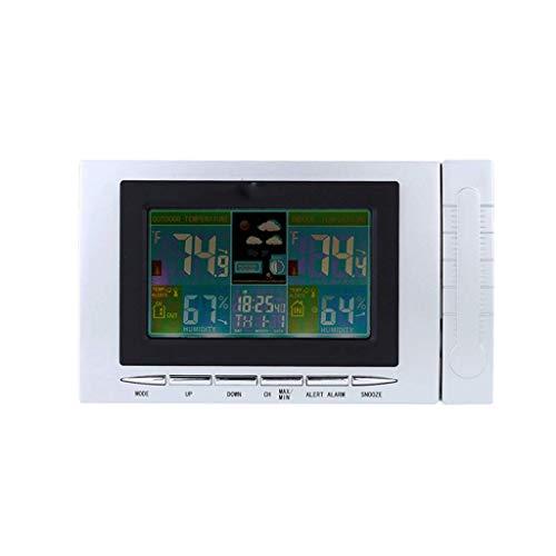 Unbekannt Drahtlose Wetterstation Uhr Digital Thermometer Hygrometer Anzeige Temperatur Hygrometer Test