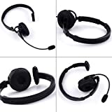 ELECTROPRIME Headset Bluetooth for Trucker Driver Over Head Head Free Wireless Mic AVRCP