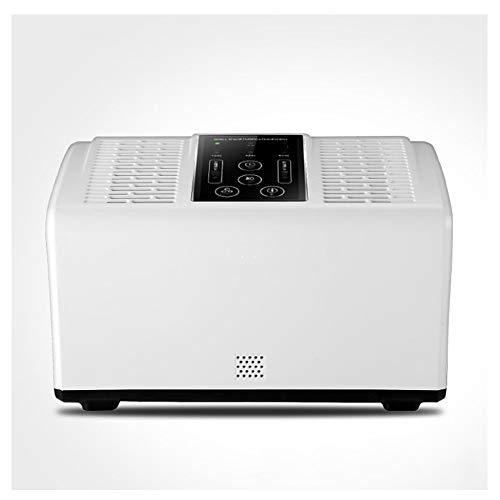 Luftreiniger mit HEPA-negativen Ionen Luftreiniger für Allergien, die Dander Dust Mite auf dem Home Office-Desktop Rauchen,White