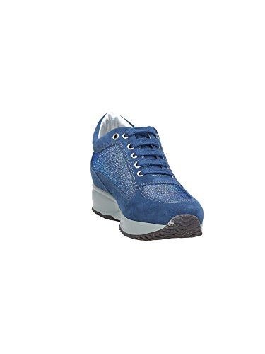 Cuir de SW1305-005 b?cheron SNEAKER MainApps Bleu