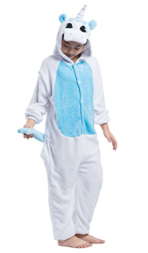 SAMGU Pyjamas Unisex Kinder One Piece Onesie Cosplay Tier (Alter Mädchen 11 Kostüme Im Von Für Halloween)