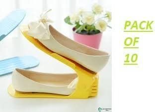 ToolsCentre Shoe Organizer/Shoe Rack/Shelf - 10 Pieces
