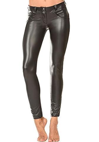 Minetom Élégant Sexy Leggings de Femmes Pantalon de Guetres en