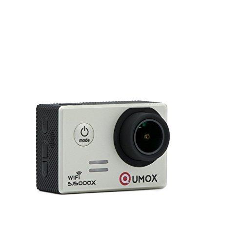QUMOX SJ5000X Elite 2K 4K 30fps 720p 120fps NTK96660 12M Exmor IMX078cqk Sensor Gyro-Action-Kamera WiFi HD Sports DV Silber