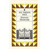 All Things Nice by Sharman Macdonald (1991-12-01)