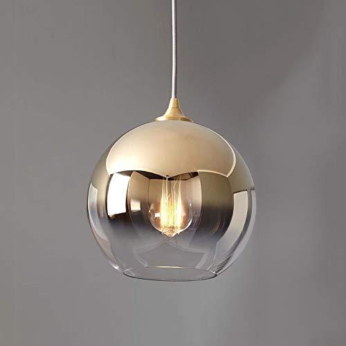 Wylolik Moderne persönlichkeit glas esszimmer anhänger beleuchtung für kücheninsel dekorative landschaft licht küche hängen leuchten höhenverstellbar kronleuchter theke galerie künstler e27 / e26 werk -