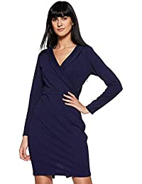 Miss Olive Women's Body Con Knee-Long Dress