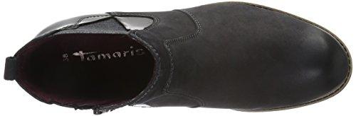 Tamaris Damen 25425 Chelsea Boots Schwarz (Black 001)