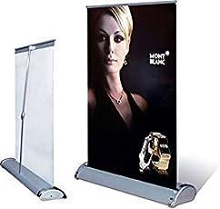 NEAT Aluminium Mini Tabletop Roll up Banner, A4