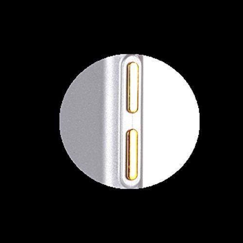 iPhone 7 Coque Transparent Tpu,iPhone 7 Étui en Silicone Mince avec Motif,JAWSEU [Double Face]Luxe Coloré Placage Cristal Clair Souple Gel Housse Etui de Protection,Bling Sparkle Case CLear Silicone T sliver