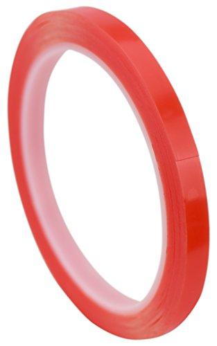 FiveSeasonStuff® Polyvalent Haute Résistance Acrylique Ruban adhésif double face pour réparation de téléphones mobiles, des véhicules automobiles, maison et jardin, industriel, bureau, atelier, garage. applications de surface pour le bois, le verre, le métal, les plastiques, les composites, foamex, les surfaces peintes (tailles disponibles de 3mm à 50mm et épaisseur 0.2mm ou 1mm) chaque bande est de 10mètres de long (5mm x 0.2mm)