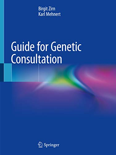 Guide for Genetic Consultation (English Edition)